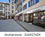 chamonix  france   august 27 ... | Shutterstock . vector #316417424