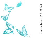 butterflies design   Shutterstock .eps vector #316465061
