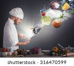 Chef Reads A Recipe From The...
