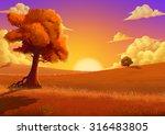 Illustration  The Autumn....