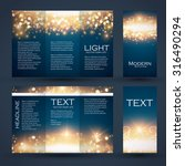design templates collection for ... | Shutterstock .eps vector #316490294