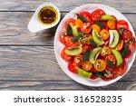 Tomatoes  Kiwi Fruit And Mint...