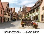 beautiful view of the historic... | Shutterstock . vector #316551845