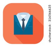 professional suit icon | Shutterstock .eps vector #316566635