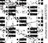 dotted list pattern  grunge ...