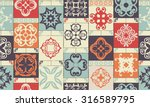 Seamless Patchwork Pattern Fro...