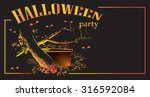 invitation or ticket to... | Shutterstock .eps vector #316592084