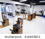 fitness and gym interior and... | Shutterstock . vector #316603811