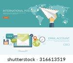vector illustration. flat... | Shutterstock .eps vector #316613519