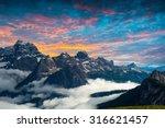 famous italian national park... | Shutterstock . vector #316621457