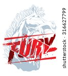 Pure Fury Illustration With...