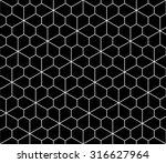 vector modern seamless geometry ... | Shutterstock .eps vector #316627964