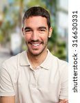 young man smiling | Shutterstock . vector #316630331