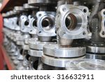 industrial background from part ... | Shutterstock . vector #316632911