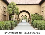 pattern of arches. | Shutterstock . vector #316690781