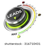 leads switch button positioned... | Shutterstock . vector #316710431