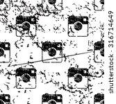 square camera pattern  grunge ...