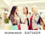 sale  consumerism and people... | Shutterstock . vector #316716329