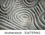 design of naive round ethnic...   Shutterstock . vector #316755461