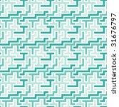 blue 3d tiles. seamless pattern. | Shutterstock . vector #31676797