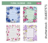 Floral Calendar   2016   With...