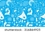 seamless background with... | Shutterstock .eps vector #316864925
