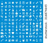 medical icons set  vector set... | Shutterstock .eps vector #316874645