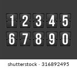 countdown timer  white color... | Shutterstock .eps vector #316892495