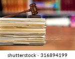 legal system. | Shutterstock . vector #316894199