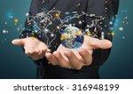 global business. | Shutterstock . vector #316948199