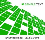 the green vector abstract... | Shutterstock .eps vector #31696495