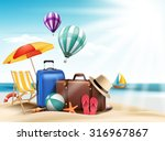 3d Realistic Summer Travel And...