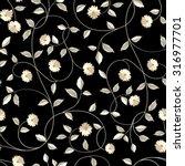 Wallpaper Texture. Seamless...