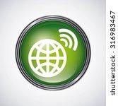 social media design  vector... | Shutterstock .eps vector #316983467