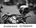 details of a motorbike  side... | Shutterstock . vector #317000495