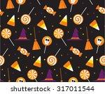 Halloween Seamless Pattern....