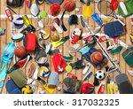 gym | Shutterstock . vector #317032325