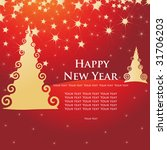 new year's background | Shutterstock .eps vector #31706203