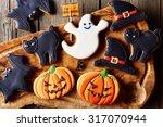 Halloween Homemade Gingerbread...