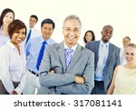 business people team teamwork... | Shutterstock . vector #317081141