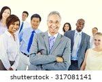 business people team teamwork... | Shutterstock . vector #317081141