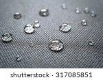 waterproof coating background... | Shutterstock . vector #317085851