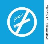 smoking fobidden icon  simple...