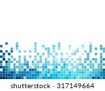 abstract square pixel mosaic... | Shutterstock .eps vector #317149664