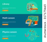 education   science | Shutterstock .eps vector #317175665