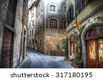 Beautiful Narrow Street In...