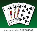 Poker Hand   Royal Flush Club