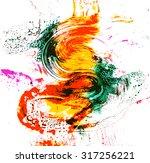 printing ink | Shutterstock .eps vector #317256221