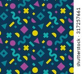 flat vector texture of... | Shutterstock .eps vector #317257661