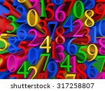 background of colorful figures... | Shutterstock . vector #317258807
